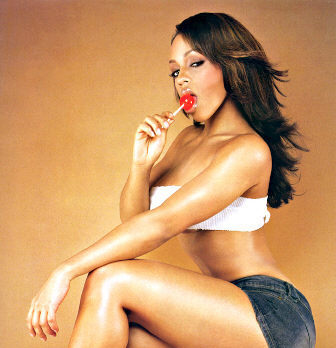 Melyssa Ford lollipop candy picture