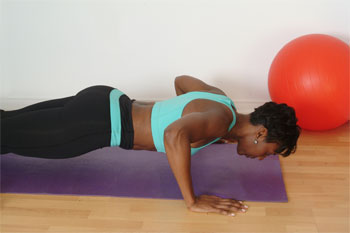 Cathy's Fitness Column: Push Ups with a Twist