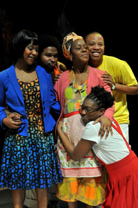 Theatre Review -- Who knew grannie: a dub aria