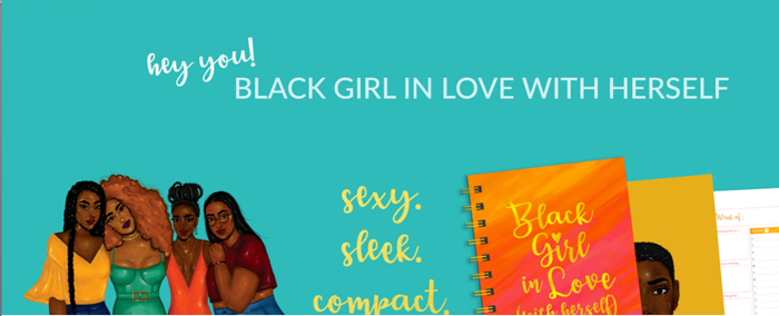 A journal for black girls in love